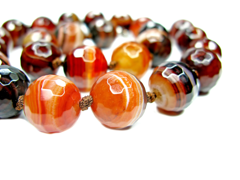 Sardonyx, necklace